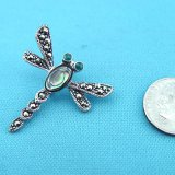 Sterling Silver Dragonfly Pendant (no chain)