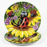 Ladybug Large Party Plates, pk/8