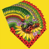Ladybug Large Party Napkins, pk/16