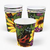 Ladybug Party Cups, pk/8