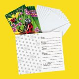 Ladybug Party Invitations, pk/8