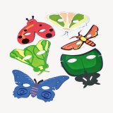 Bug Party Masks, pk/12