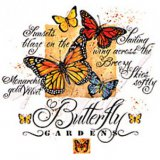 Butterfly Gardens Adult T-Shirt