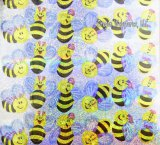 Bumblebee Sparkly Stickers, pk/72