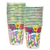 Spring Butterfly Party Cups, pk/12