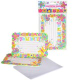 Spring Butterfly Party Invitations, pk/10