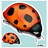 Giant Ladybugs Indoor/Outdoor Decal