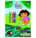 Dora the Explorer Bug Hunt Coloring Book