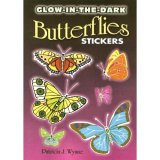 Glow in the Dark Butterfly Stickers (15)