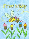 Sugar Buzz Petite Bee Birthday Card