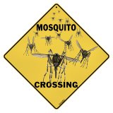 Mosquito Crossing Sign