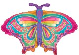 Giant Pastel-Colored Butterfly Balloon