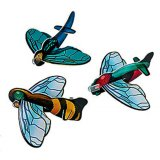 Bug Foam Flying Gliders, pk/12