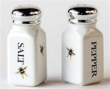Bee Salt and Pepper Shakers
