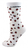Ladybugs Leaves Socks