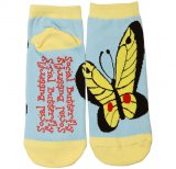 Social Butterfly Slipper Sock