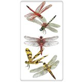 Scattered Dragonflies Flour Sack Kitchen Towel
