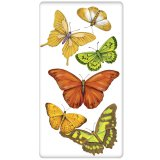 Scattered Butterflies Flour Sack Kitchen Towel