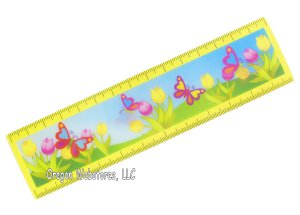 Butterfly Flicker Ruler