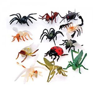 Assorted Big Vinyl Bugs, pk/12