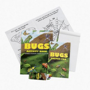 Bugs Activity Booklet Set