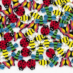 Mini Insect Erasers (144 pcs)