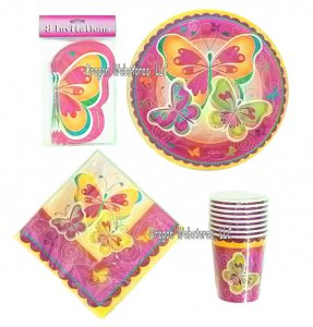 Butterfly 40 Piece Party Pack