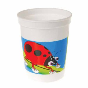 Bug Party Plastic Cups, pk/12