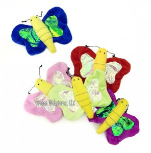 Little Plush Butterfly (colors vary)