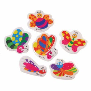 Butterfly Puffy Stickers, pk/72