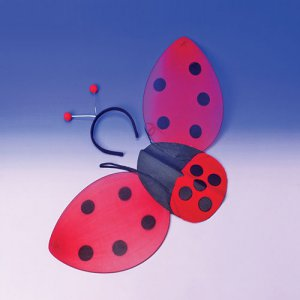 Ladybug Costume Wings w/Headband