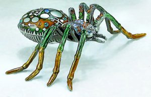 Jeweled Spider Box