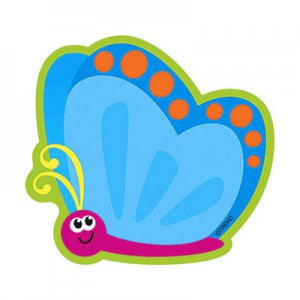 Whimsical Butterfly Mini Accent Cutouts, pk/36
