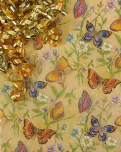 Beautiful Butterflies Gift Wrap