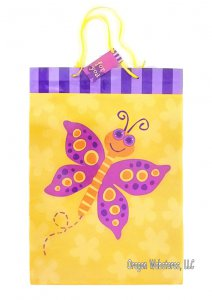 Fun Butterfly Large Gift Bag