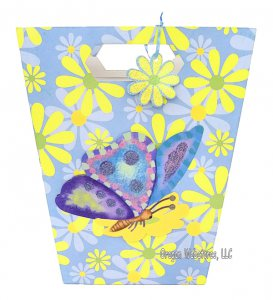 Butterfly Sparkle Gift Bag