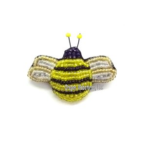 Beaded Bumblebee Pin