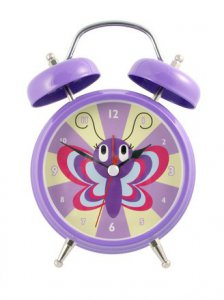 Butterfly Kisses Alarm Clock