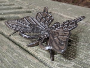 Cast Iron Garden Butterfly