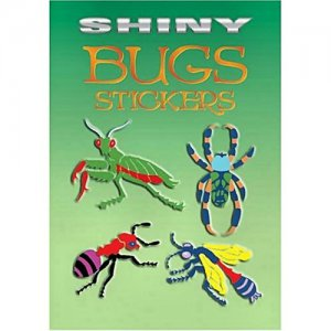 Shiny Bugs Stickers (12)