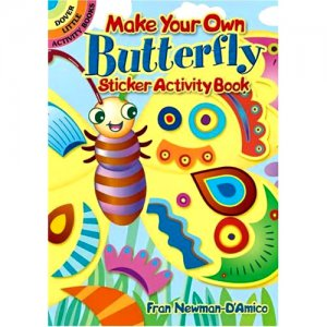 Butterfly Sticker Activity Book