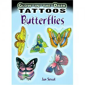 Glow in the Dark Butterfly Tattoos (11)