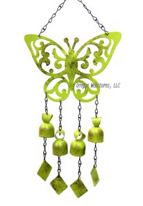 Butterfly Cutout Windbell Chime