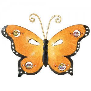 Monarch Butterfly Metal Magnet