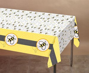 Buzzy Bumblebee Plastic Tablecover