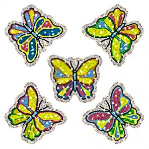 Butterfly Dazzle Stickers