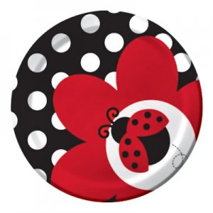 Ladybug Fancy: Small Party Plate (8)