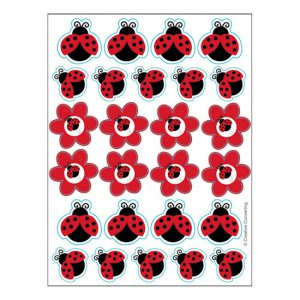 Ladybug Fancy: Stickers (4 Sheets)