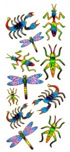 Prismatic Bug Stickers