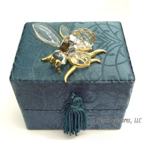 Glass Bumblebee in Gift Box